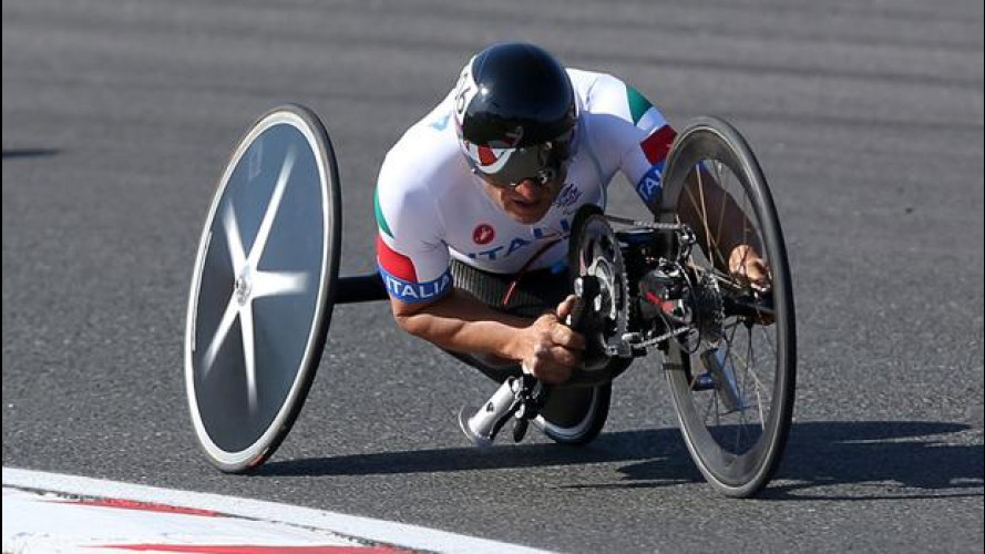 Alex Zanardi è oro alle Paralimpiadi 2012
