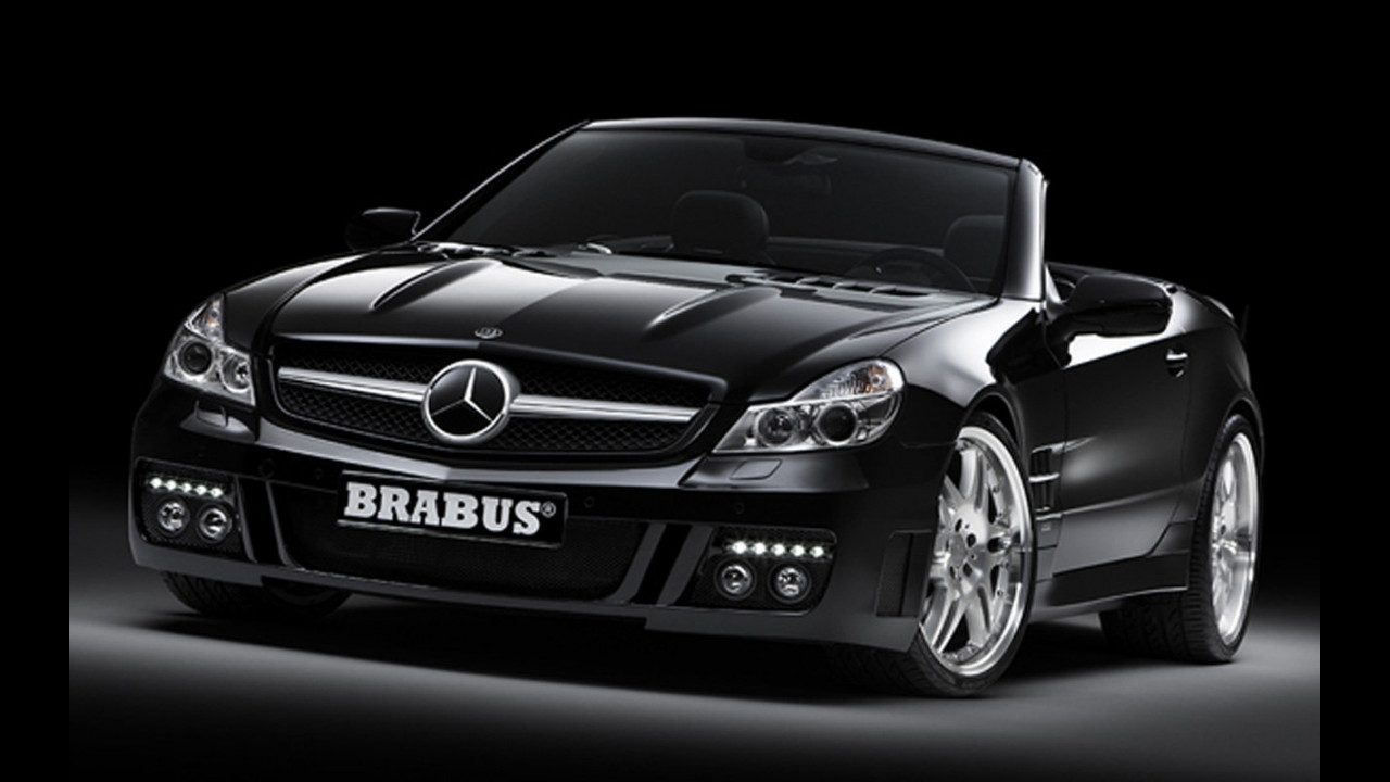 Mercedes SL R230 bt Brabus