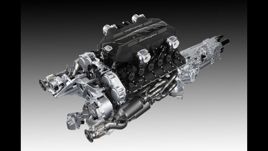 Il nuovo V12 Lamborghini