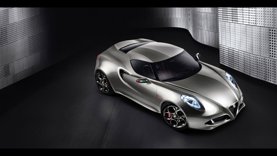 L'Alfa Romeo 4C arriverà nel 2013