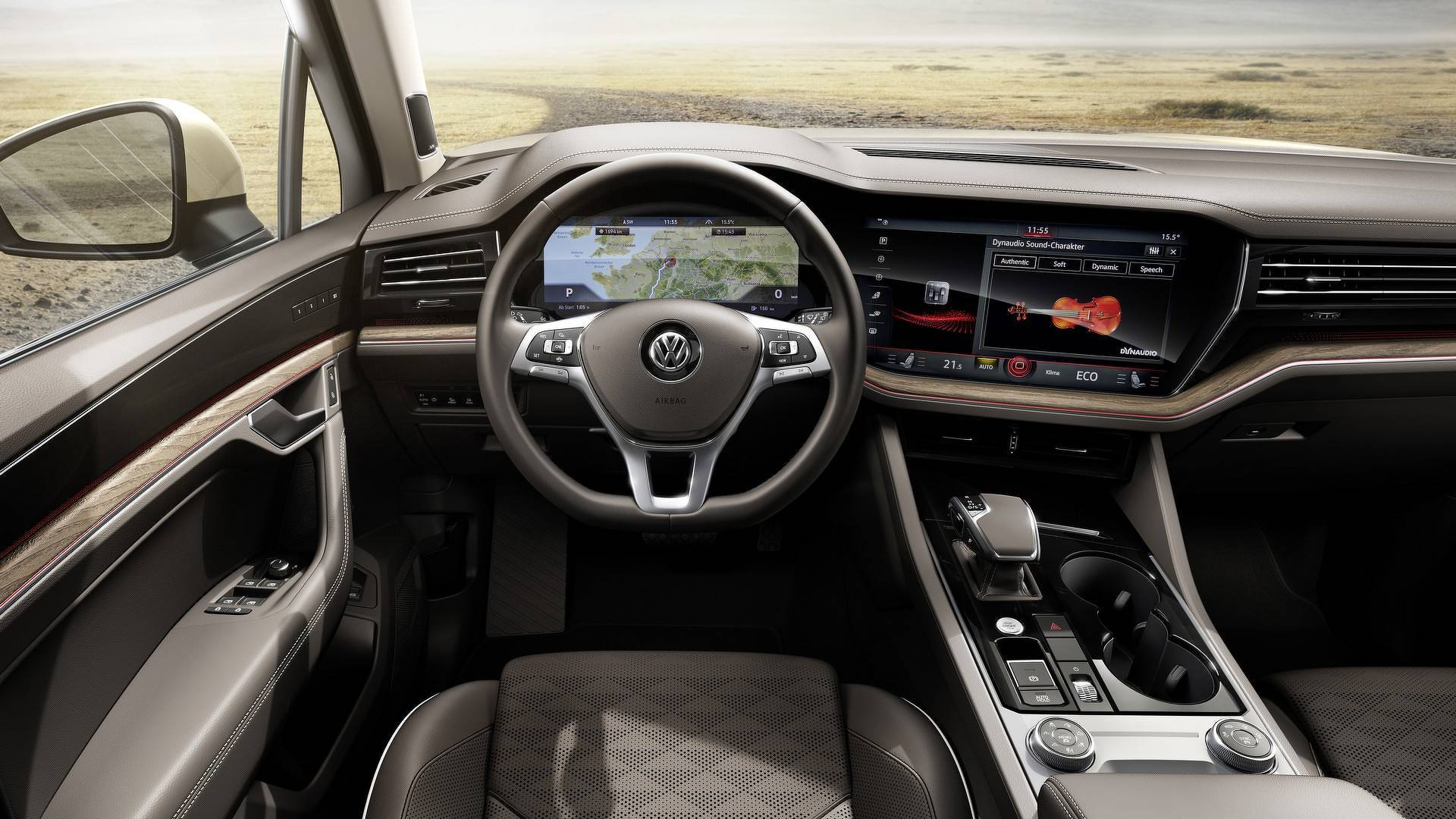 Discover Top 10 Tech Features Of The 2019 Vw Touareg
