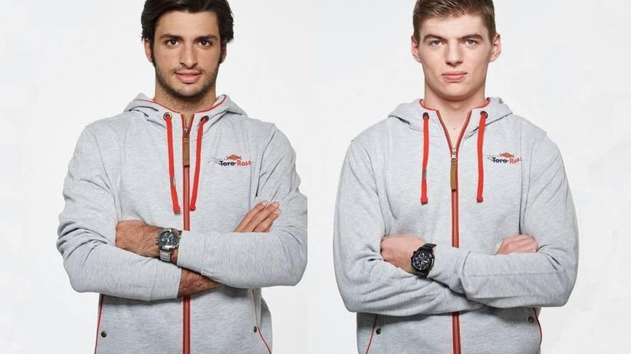 Carlos Sainz y Max Verstappen