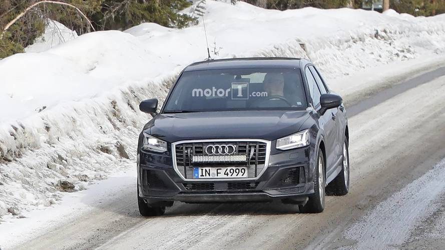 2019 Audi SQ2 Spied Without Any Camouflage