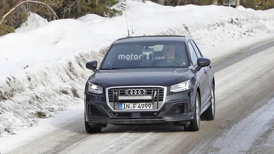 Audi SQ2 kamuflajsız olarak görüntülendi