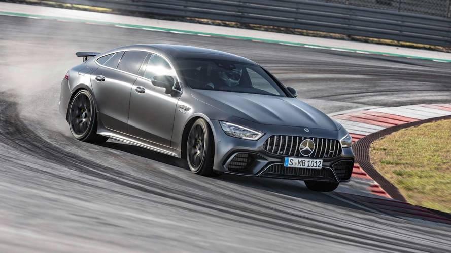 Mercedes-AMG GT Coupé 4 Puertas 2018, estrella fugaz