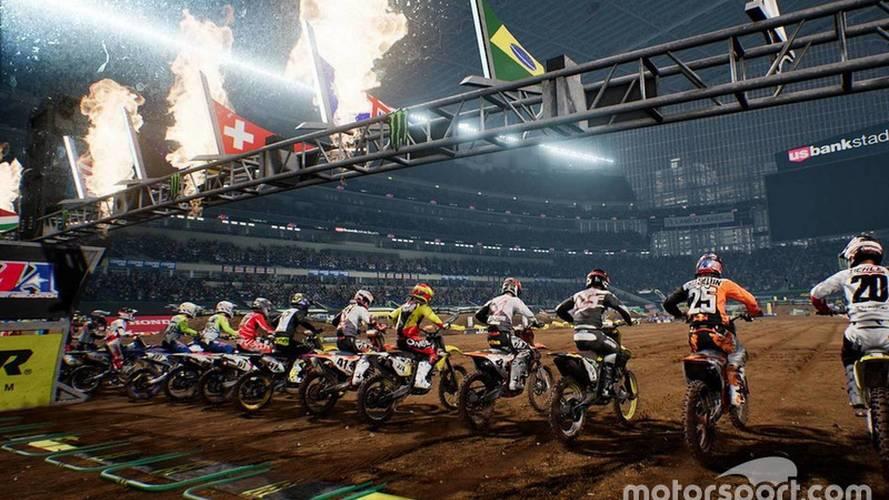 Videojuego Monster Energy Supercross