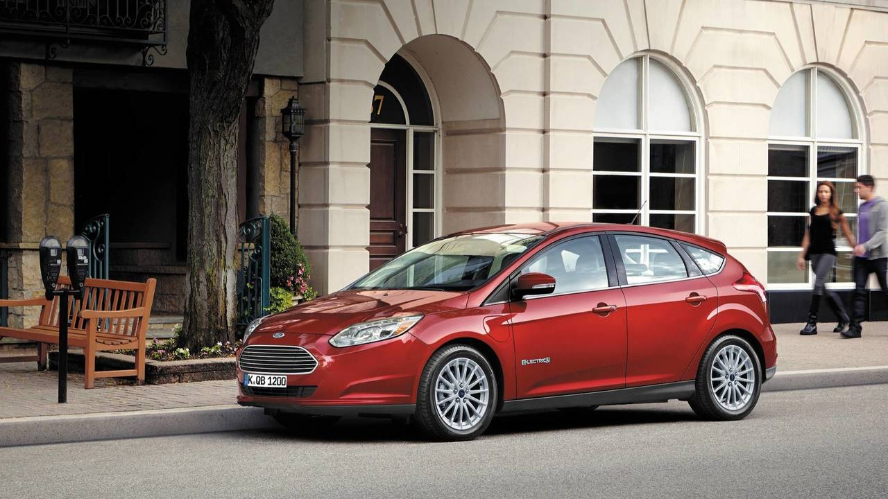 8. Ford Focus Electric