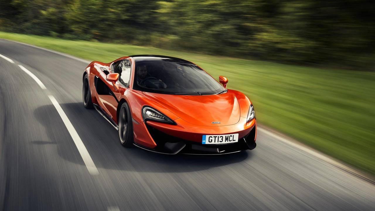 McLaren MSO Sport Series aksesuarları