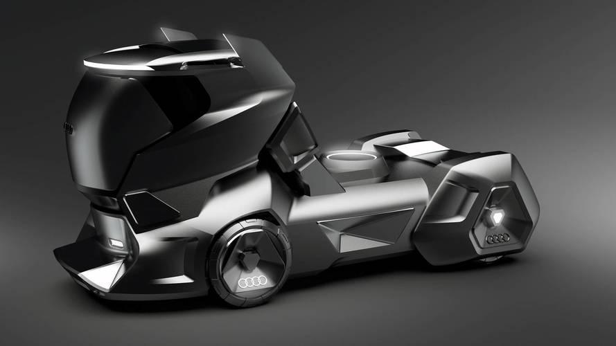 Audi HMV tır tasarım yorumu
