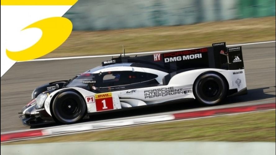 Porsche campione del mondo a Shanghai