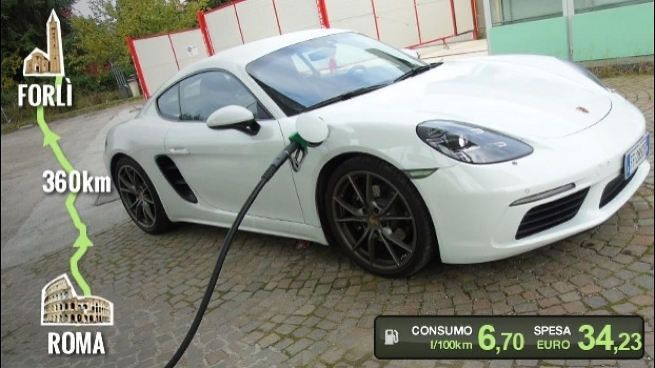 [Copertina] - Porsche 718 Cayman, la prova dei consumi reali