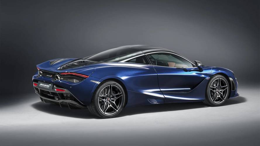 McLaren 720S Atlantic Blue MSO