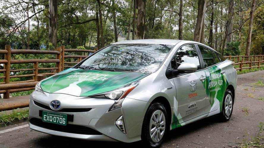 Toyota'nın yeni prototipi etanolü yakıt olarak kullanabiliyor