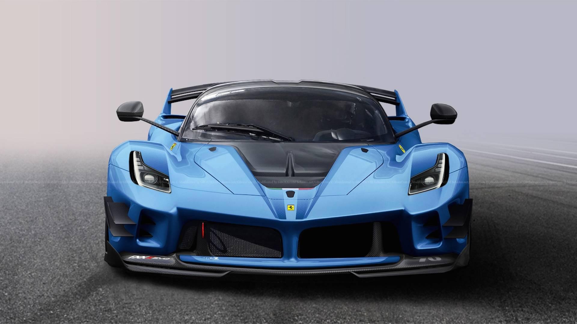 What If Ferrari Built A Street,Legal FXX K Evo?