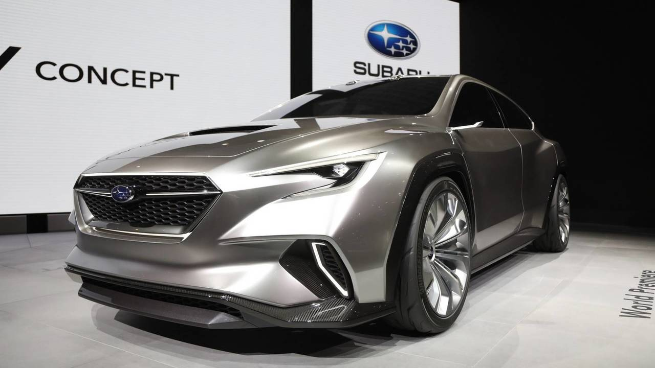 Gallery Subaru Viziv Tourer Concept At The 2018 Geneva Motor Show