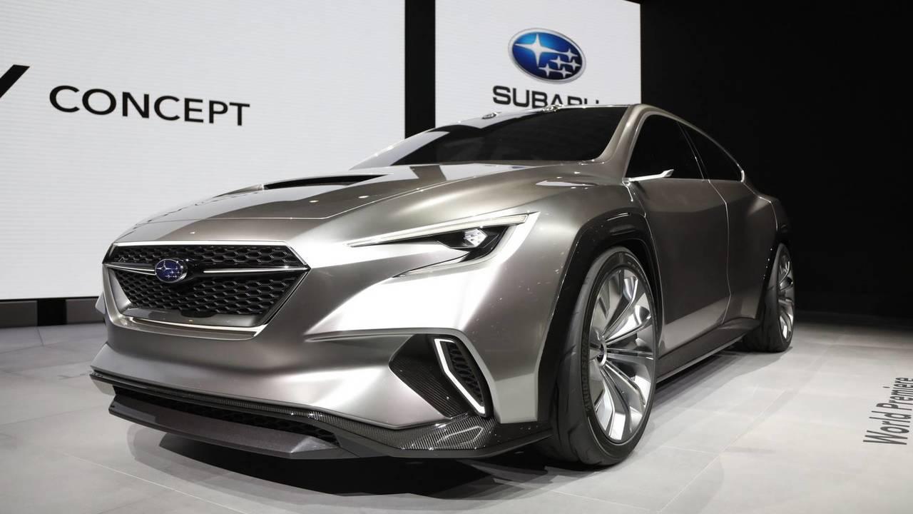 2018 Subaru Visiv Tourer concept
