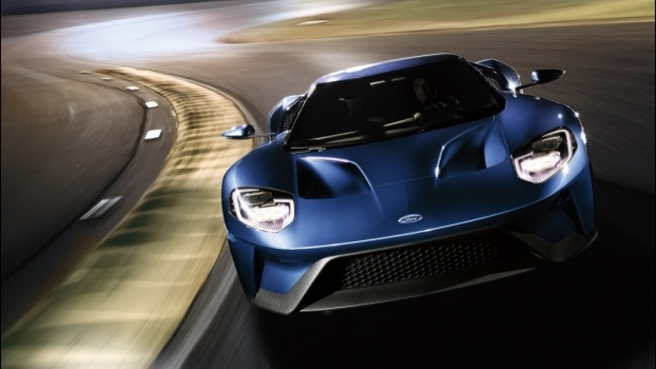 [Copertina] - Ford GT ecco il kit di personalizzazione sensoriale