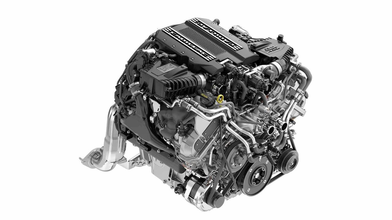 Cadillac Ct6 V Twin Turbo 4 2 Liter V8 Engine Named Blackwing