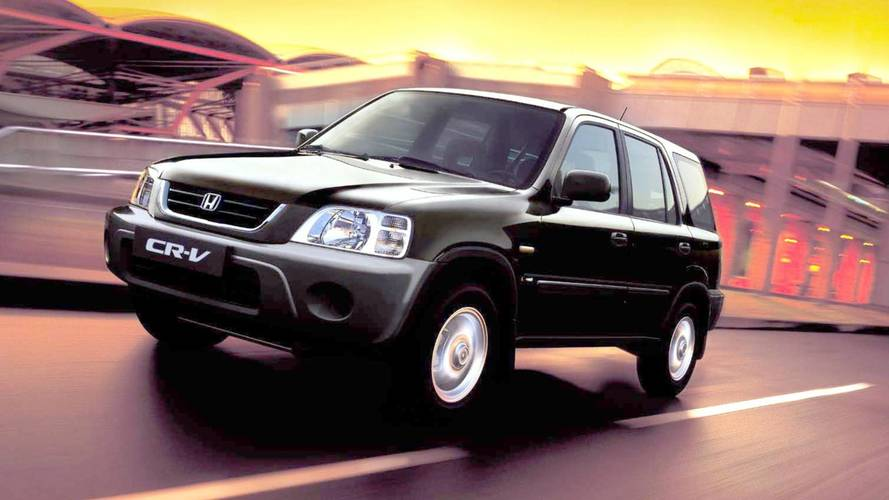 #TBT Há 18 anos, Honda CR-V estreava no Brasil