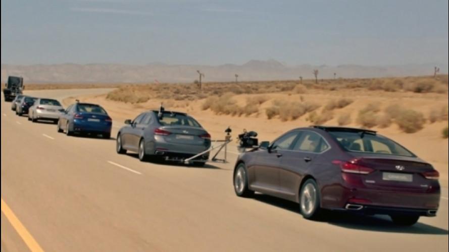 Hyundai con Google per la guida autonoma