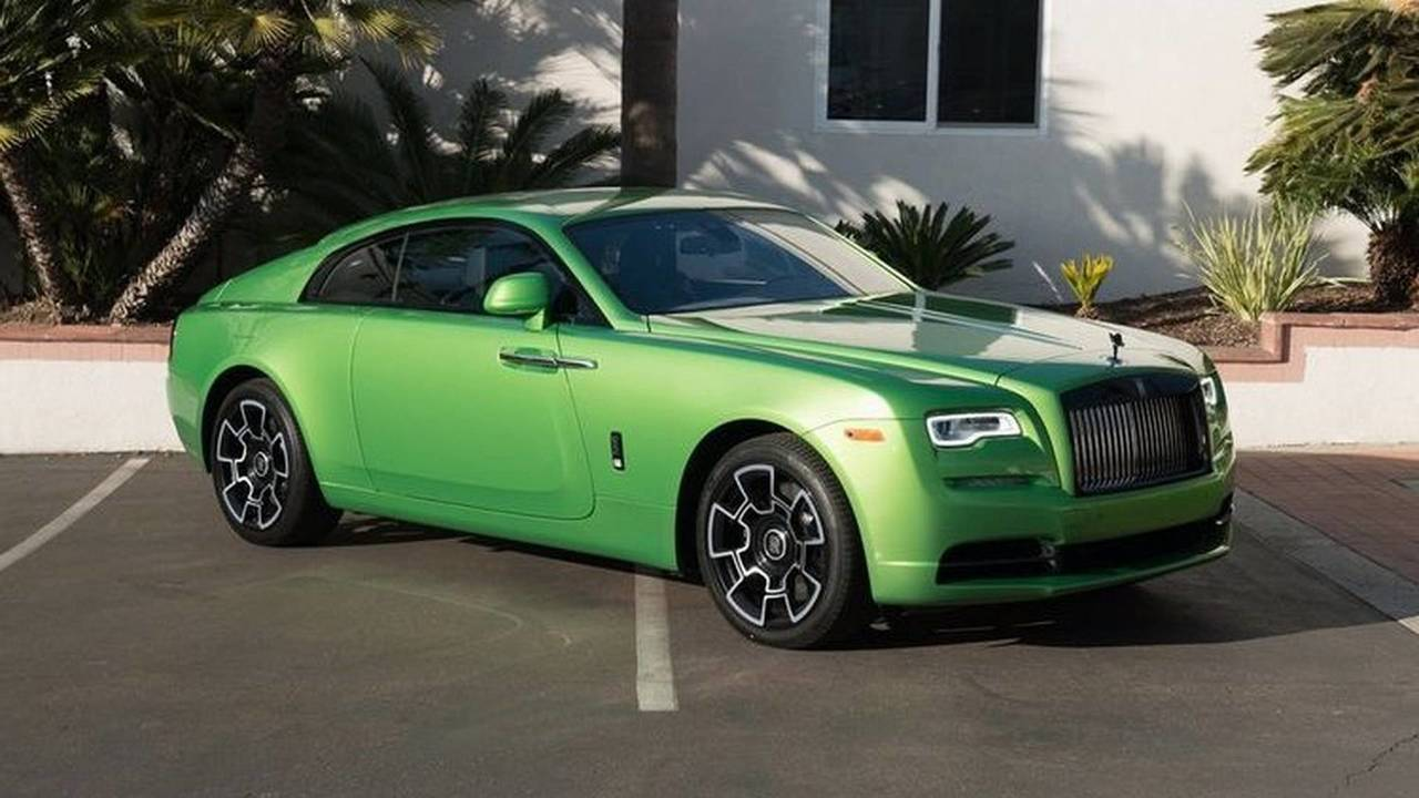 Rolls-Royce Wraith Java Green