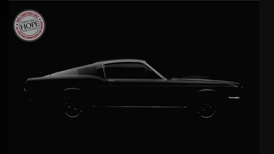 Ford Mustang Bullitt Teaser