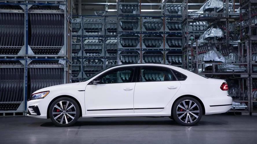 2019 VW Passat U.S. Range Simplified, Range-Topping GT Trim Axed