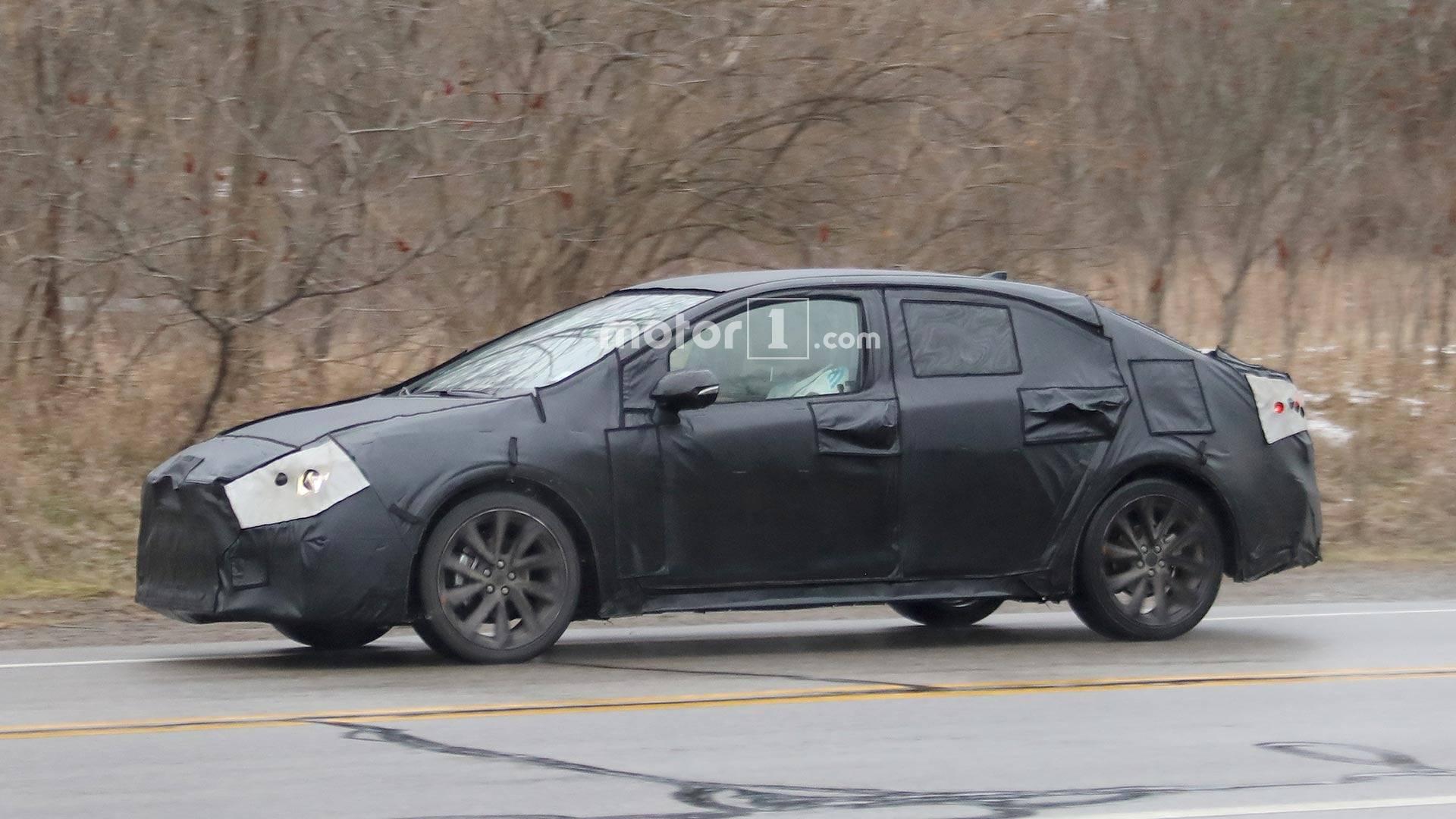 2021 New Toyota Avensis Spy Shots Reviews