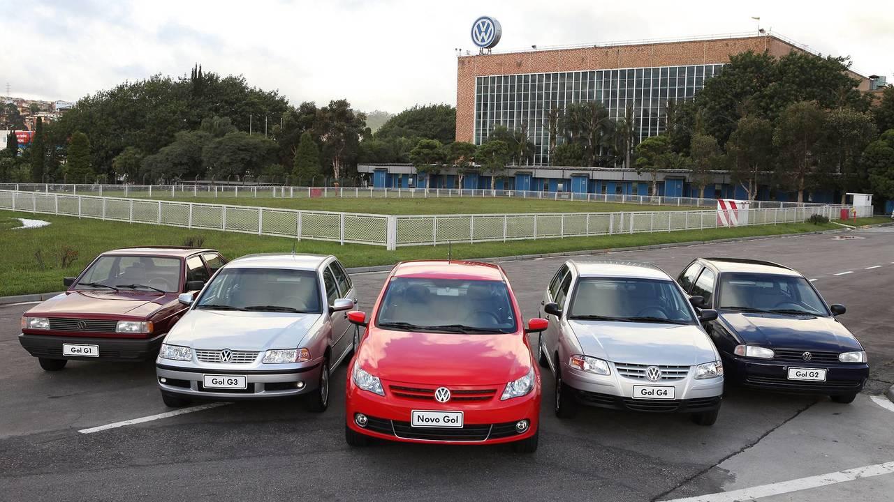 VW Gol gerações
