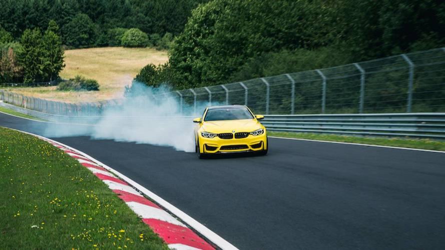 VIDÉO - La BMW M4 CS drifte sur le Ring avec Pennzoil