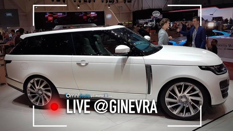 Range Rover SV Coupé, a Ginevra per spegnere 70 candeline