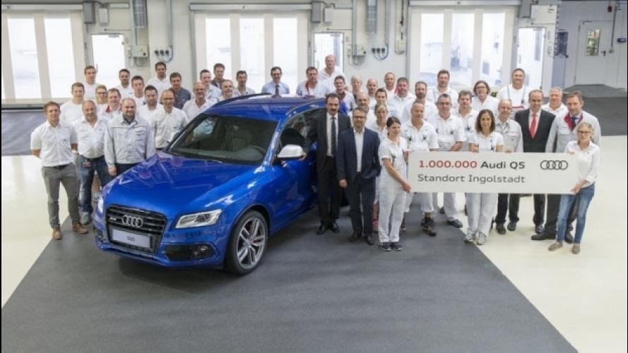La Audi Q5 è salita a quota 1 milione
