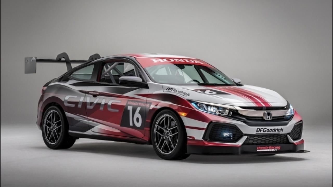 [Copertina] - Honda al SEMA è Civic e il pick-up Ridgeline