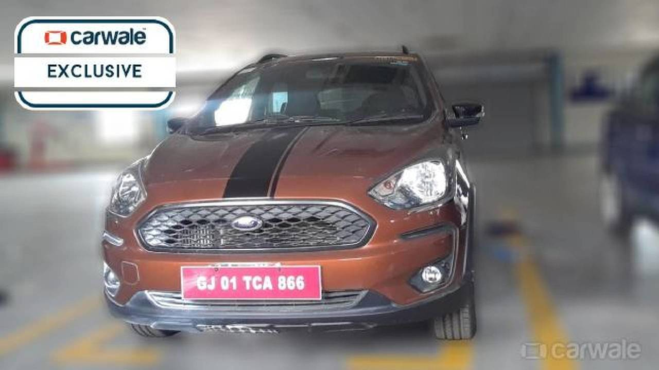 Flagra Ford Ka 2019 Índia