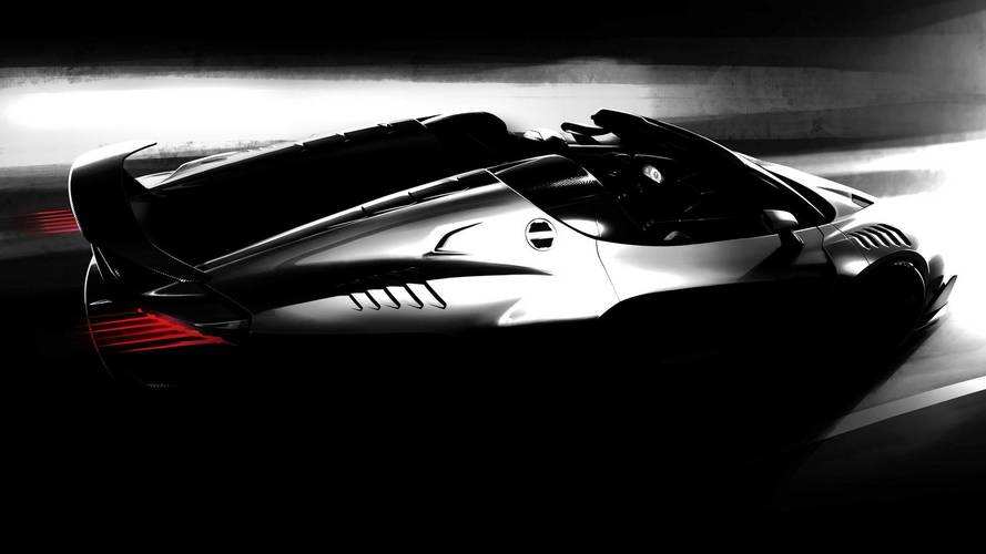 Italdesign Celebrates 50 Years By Teasing New Zerouno Roadster
