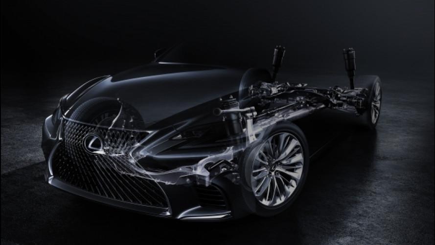 Lexus LS, a gennaio la quinta generazione