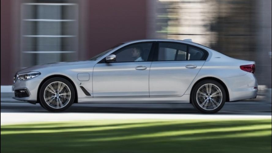BMW 530e iPerformance, l'ibrido sportivo
