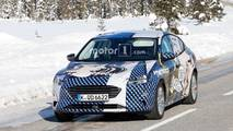 Ford Focus Sedan Spy Photo