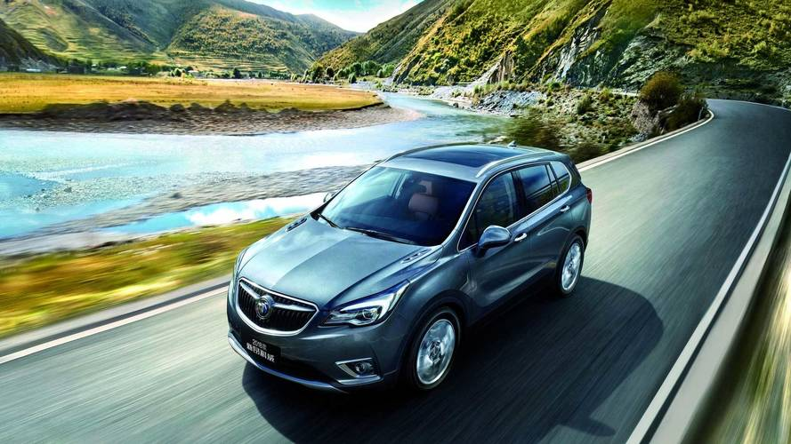 2019 Buick Envision Slated For A Minor Facelift