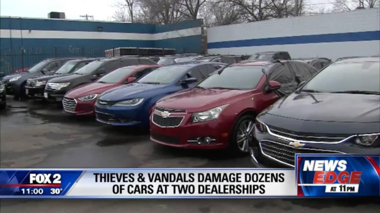 Vandals Smash Nearly 300 Windows