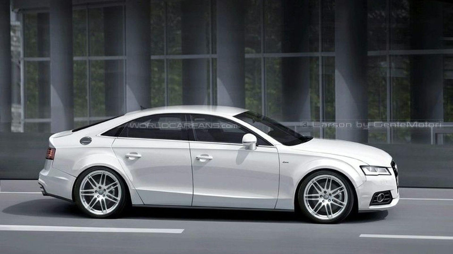 Latest Audi A Renderings Emerge - Larson audi