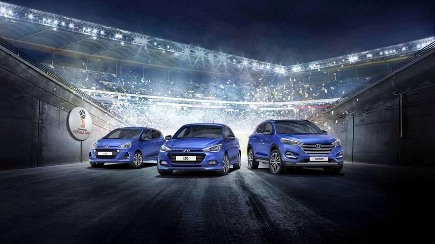 Hyundai lance une Edition #Mondial sur les Tucson, i10 et i20
