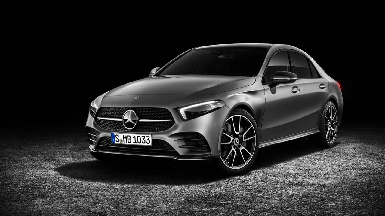Mercedes-Benz A-Class Sedan Rendering