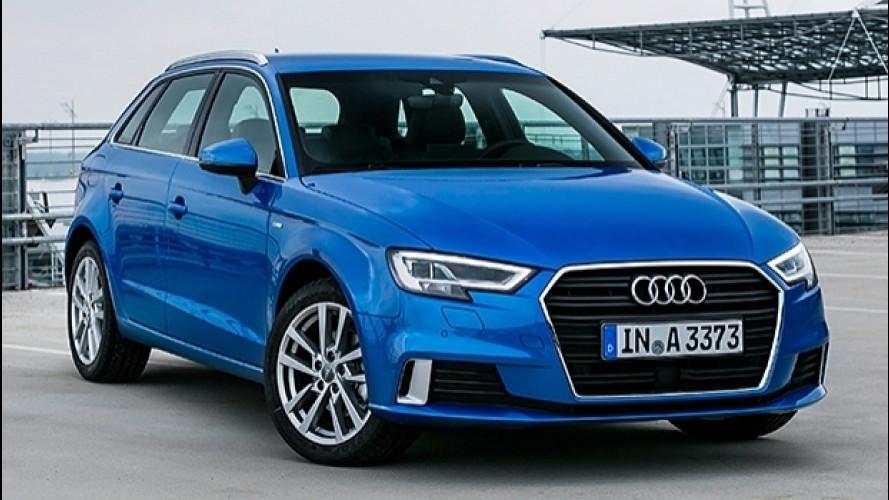 Audi A3, il 1.6 TDI sale a 116 CV