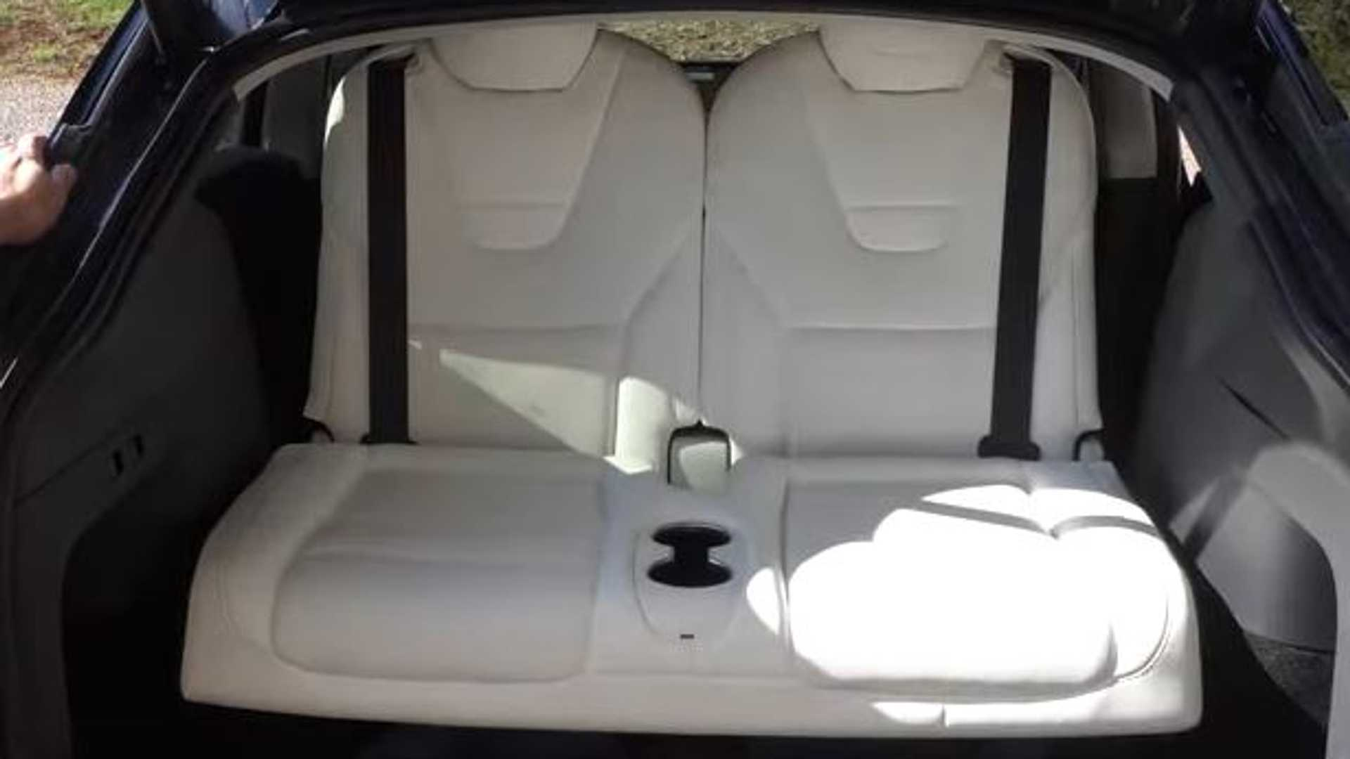7 Seat Tesla Model Y With Third Row Seats Added Let S See How They Fit
