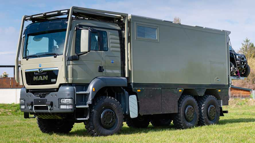 Unicat Individual MD56c MAN TGS 6x6: Expeditions-Laster