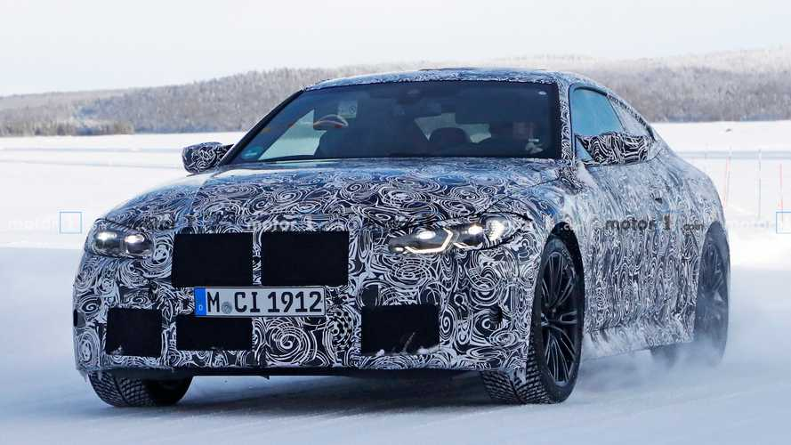 BMW M4 Coupe Spied Looking Speedy In The Snow