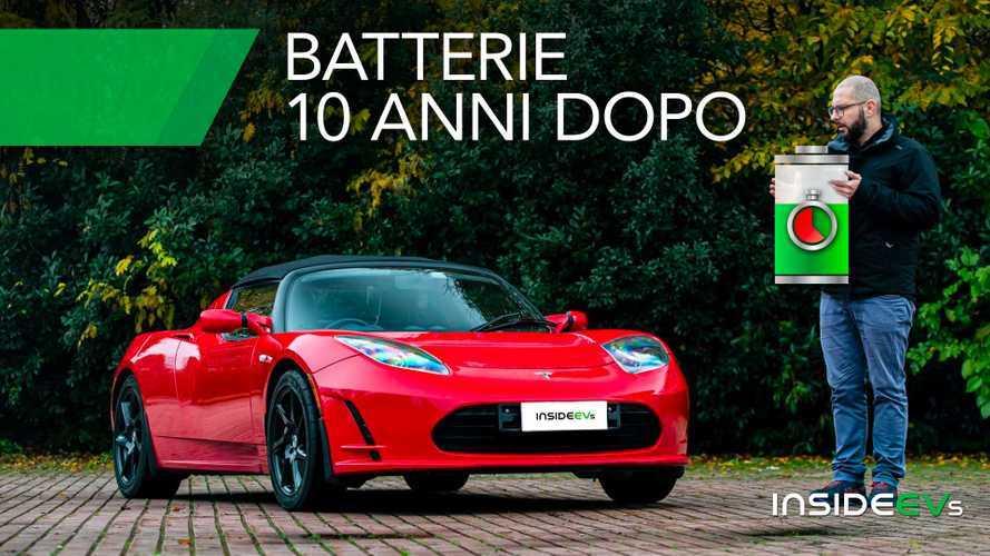 Batterie auto elettriche, ecco cosa succede dopo 10 anni di utilizzo
