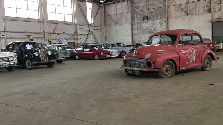 Exclusive video! Inside the Brightwells 'Affordable Classics' sale hangar