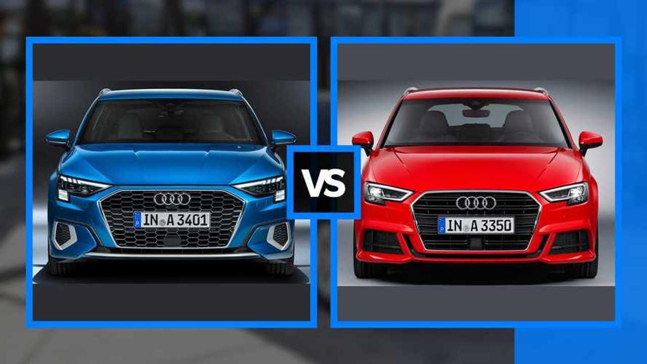 Audi A3 - Régi vs Új